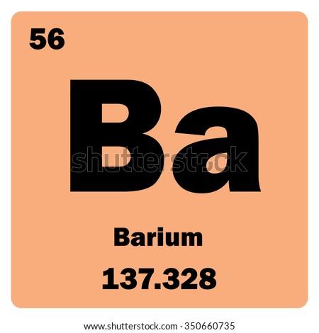 Vector Illustration Illustration Shows Chemical Element Stock Vector