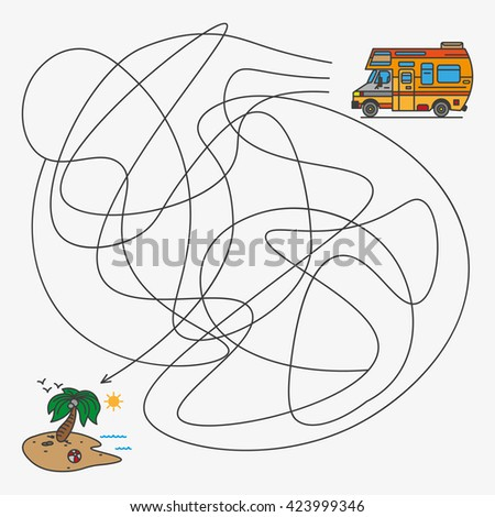 vector illustration jobs for children the picture of the car magazine kids tutorials - Child Drawing Book