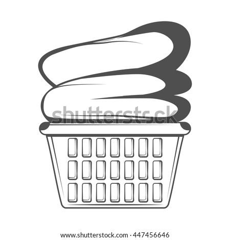 Empty Laundry Basket Clipart Washing Basket ...