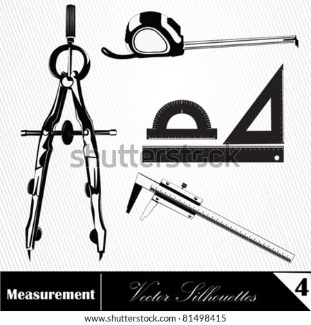 Vector illustration. Measurement - stock vector