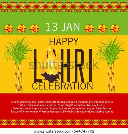 Punjabi culture stock images royalty free images vectors vector illustration of a banner for punjabi festival happy lohri celebration malvernweather Choice Image