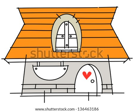 Vector illustration of a store