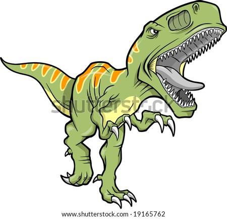 vector illustration t rex dinosaur stock vector 19165762 shutterstock rh shutterstock com t-rex vector tiles t rex vector logo