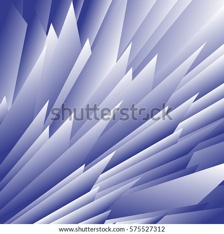 Vector illustration of abstract blue background.