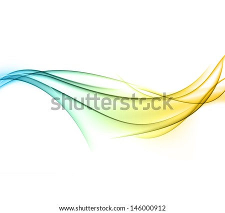 Vector Illustration of abstract color smoke background. Eps10. - stock vector