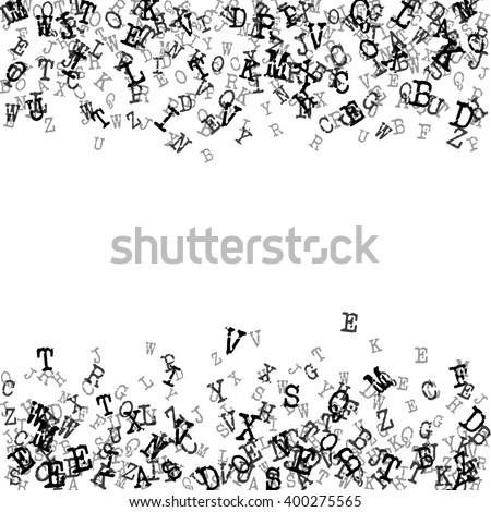 Vector Illustration Alphabet Background Design Website Stock Vector ...