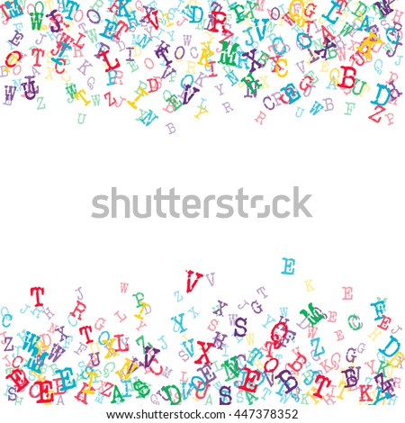 Vector Illustration Abstract Background Colorful Music ... Aands Alphabet Wallpapers Download