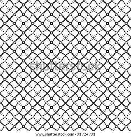 Vector illustration of an abstract seamless patterns on white background - stock vector