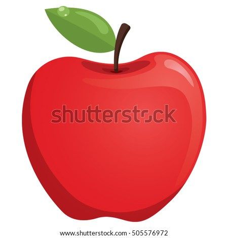 Vector Illustration Of Apple