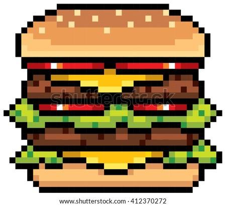 Beefburger Hamburger Cartoon Stock Images, Royalty-Free Images & Vectors | Shutterstock