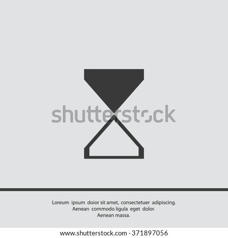 vector illustration of business and finance icon, time is money - stock vector