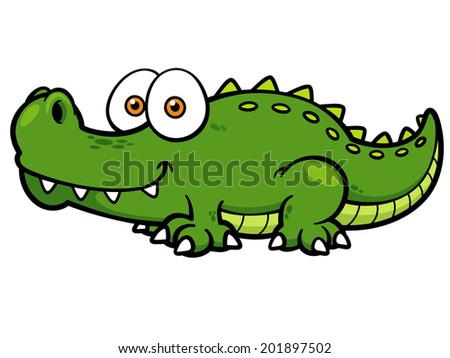 Cartoon Crocodile Stock Images, Royalty-Free Images ... - photo#39
