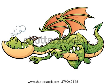 cartoon dragon stock images royalty free images amp vectors
