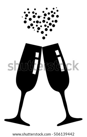 Champagne Bubbles Clip Art Black And White | www.pixshark ...