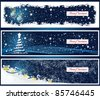 Vector Illustration of Christmas banners - stock vector