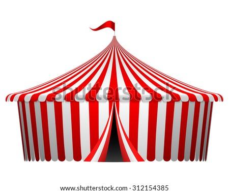 sc 1 st  Shutterstock & Vector Illustration Circus Tent Stock Vector 312154385 - Shutterstock