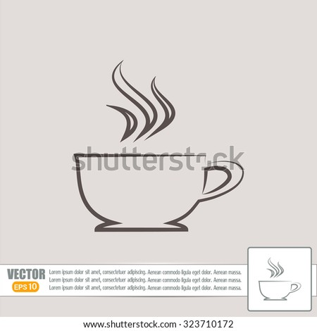 Vector illustration of cup
