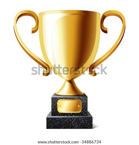 vector illustration of cup - stock vector