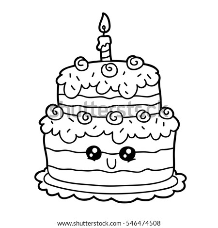 coloring pages of cakes - cute cake coloring pages images