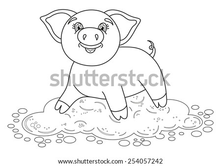 mud puddle coloring pages - photo#24