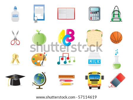 Vector illustration of education concept - stock vector