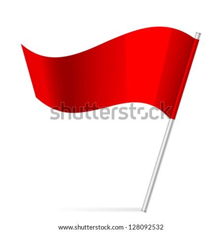 Vector illustration of flag - stock vector