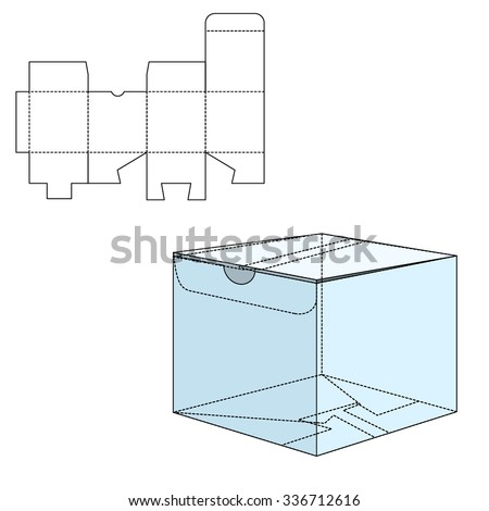 empty box carrier dividers die cut stock vector 346846637 shutterstock. Black Bedroom Furniture Sets. Home Design Ideas