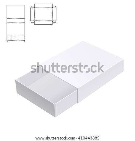 vector illustration gift craft box design stock vector 410443885 shutterstock. Black Bedroom Furniture Sets. Home Design Ideas
