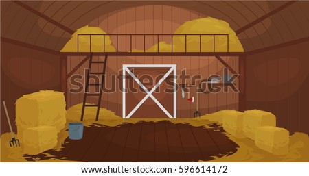 how to draw a pig stable cartoon