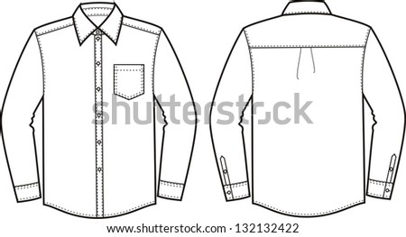 Flat Fashion Template Trench Coatdifferent Types 510856345 additionally Girl Without Clothing furthermore Suit Jacket Diagram as well Stock Vector Blank Men S And Women S Shirt In Front And Back Views also 27 Images Of Clothing Coloring Template Download 1394. on winter jacket template