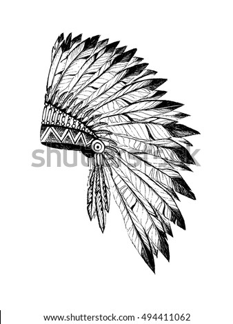 Aztec Headdress Stock Images Royalty Free Images