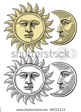 Moon Face Stock Images, Royalty-Free Images & Vectors | Shutterstock