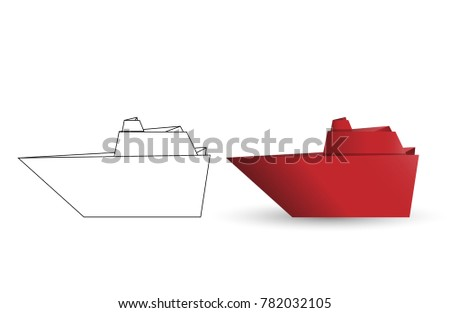 Origami Battleship Diagram Images Gallery