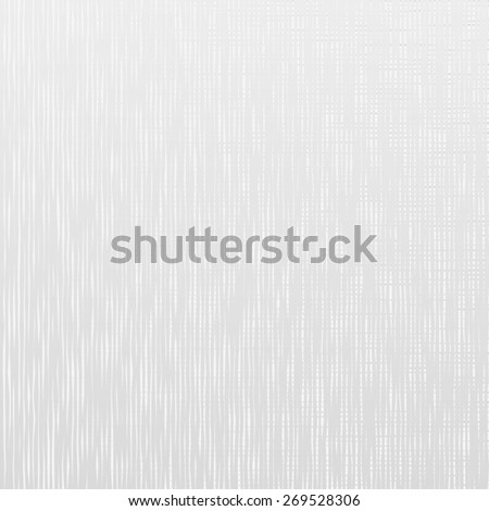 Vector illustration of realistic linen texture. White fabric