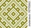 Vector illustration of slavic seamless pattern ornament - stock vector