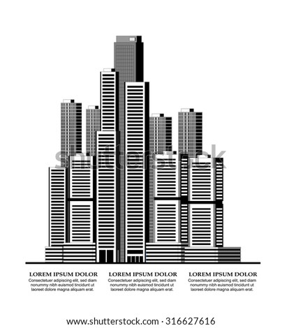Vector illustration of smart city concept