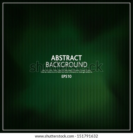 Vector illustration of soft green dark abstract background - stock vector