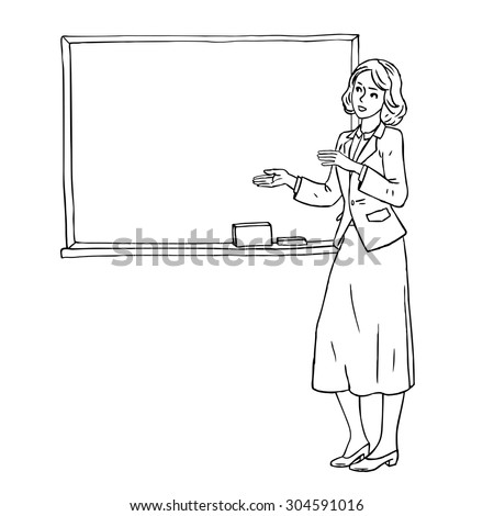 Easy Cartoon Woman