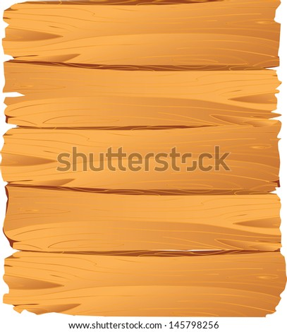 vector illustration of textured wooden plank