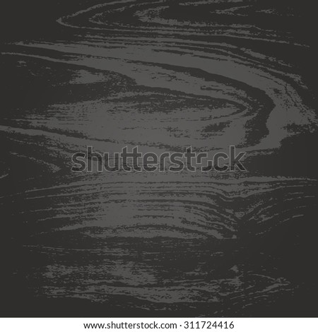 Vector Illustration of The Natural Dark Wooden Background. Dark wood texture for background. Realistic strokes and lines wooden texture. You can easily change the main color of the wooden structure. - stock vector