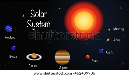 planets and outer space diagram - photo #48