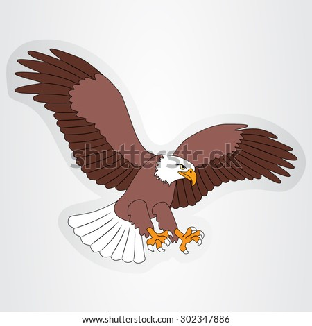 Eagle Cartoon Stock Images Royalty Free Images Vectors
