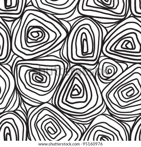 Vector illustration. (Seamless Pattern)