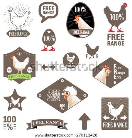 vector illustration set vector labels free stock vector 270111428