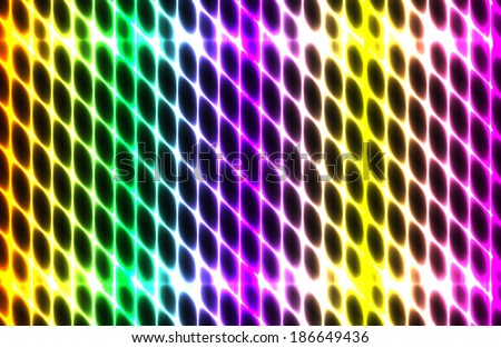 Vector illustration splash color abstract  glowing  background. EPS10 - stock vector