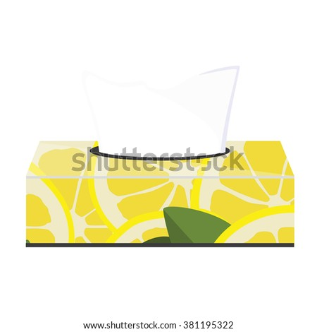 tissue paper box design vector 3