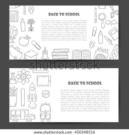 linear flat interior design illustration modern stock vector 370828010 shutterstock. Black Bedroom Furniture Sets. Home Design Ideas