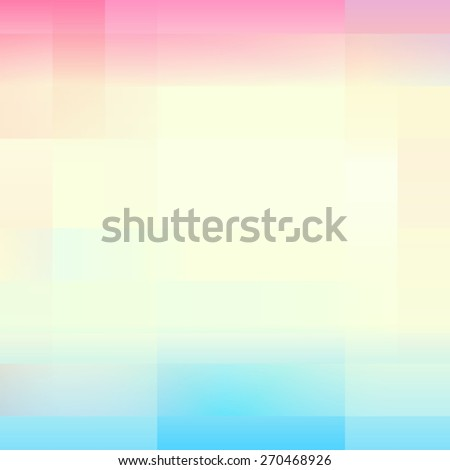 Vector illustration with colorful strip - stock vector