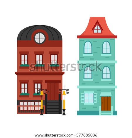 Stock images royalty free images vectors shutterstock for Modern house clipart