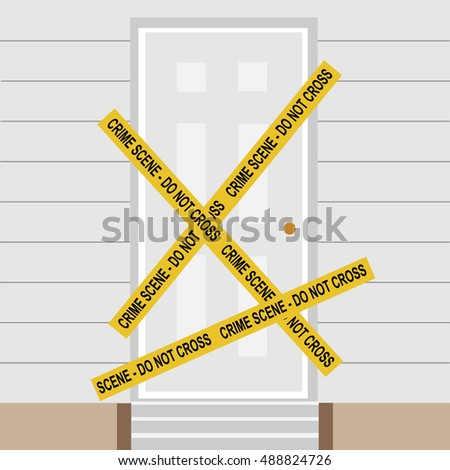 Crime Tape Stock Photos, Royalty-Free Images & Vectors - Shutterstock